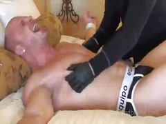 Beefy guy gets teased ... from BoyFriendTV