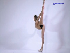Skinny ballerina strip... from Alpha Porno