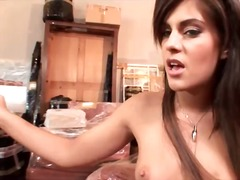 Dildo sex with hot chi...