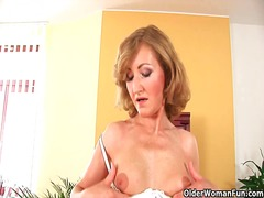 Older woman with small... from Xhamster