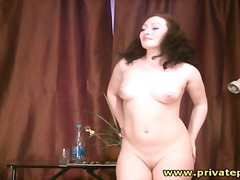 Naked girl poses for n... from Alpha Porno
