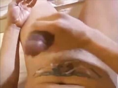 Lustful guy beating off