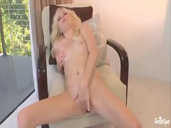 Lovely blonde elaina r...