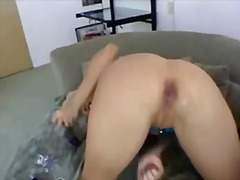 Nikki squirts solo