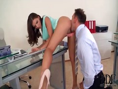 Secretary tease in sho... from Alpha Porno