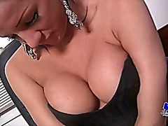 melanie at home jerkin... from Vporn