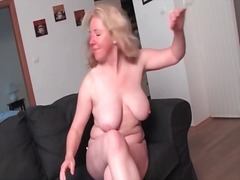 Curvy mature gets nake... from Alpha Porno