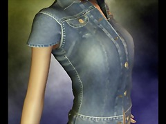 3d babe in denim from Tube8