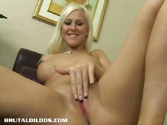 This blonde babe force... from Alpha Porno