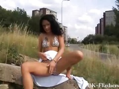 Outdoor masturbation a...