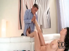 Alpha Porno - Long footjob from skin...