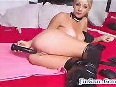 Blonde cam girl squirt... from Redtube