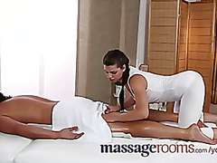 Massage Rooms Horny g... from Vporn