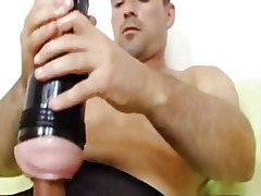Gay messy cum explosion from H2porn