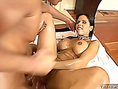 Well oiled sex machine from Vporn