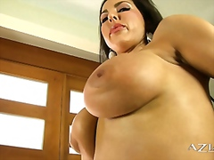 Vporn - Hot cow girl plays wit...