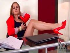 Secretary abbie cat ma... from Alpha Porno