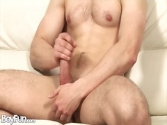 Big cock with a curve ... from Alpha Porno