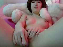 Japanese webcam girl m...