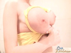 Big natural tits blond... from Alpha Porno