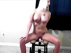 Exgf and her fuckmachine from Redtube