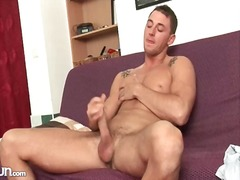 Hard pecs and abs on s... from Alpha Porno