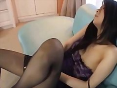 Redtube - Girl with stockings ma...