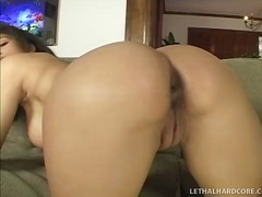 Marvelous ebony girl w...