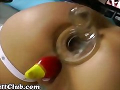 Redtube - Ass swallows object an...