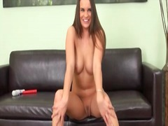 Alpha Porno - Fuzzy red boots on mas...