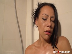 Xhamster - Massage oil shower squ...