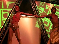 Indian sexy show on stage
