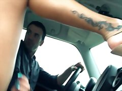 Driving miss squirtsy from Redtube