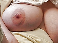 Xhamster - Huge tits rubs pussy