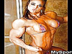 Muscled athletic gfs! from Redtube