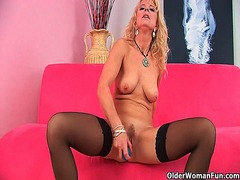 Xhamster - Over 50 mom probes her...