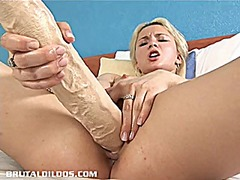 Blonde russian fills h...