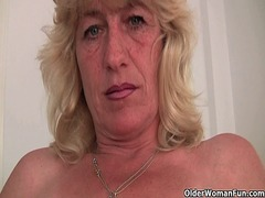 British grandma gets f... from Xhamster