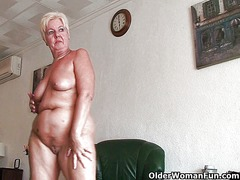 64 year old and britis... from Xhamster