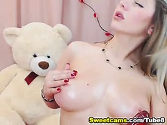 Busty blonde teen titt... from Tube8