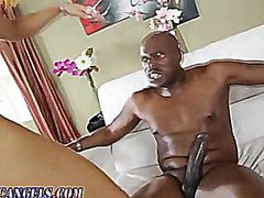 Interracial anal stock...