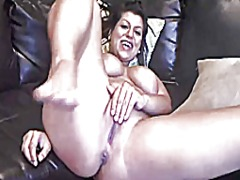 Briana lee spreads her...