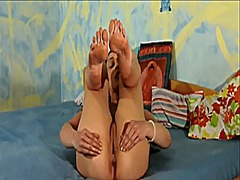 Naked asshole & soles ... from Xhamster