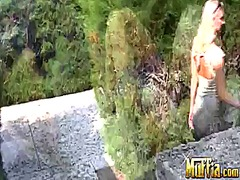 Blonde molly cavalli w... from Wetplace