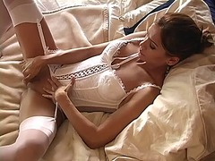 Hot lesbo fun action from Ah-Me
