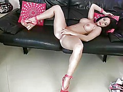 Nina leigh with huge j... from PinkRod