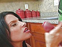 Redtube - Hot housewife jacks of...