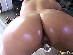 Beautiful latina gets ...