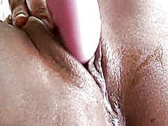 Ebony creamy orgasm an... from Xhamster