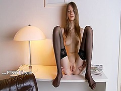 Black stockings and ho... from IcePorn